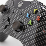 Xbox One Carbon Fiber Hydrodipped Controller