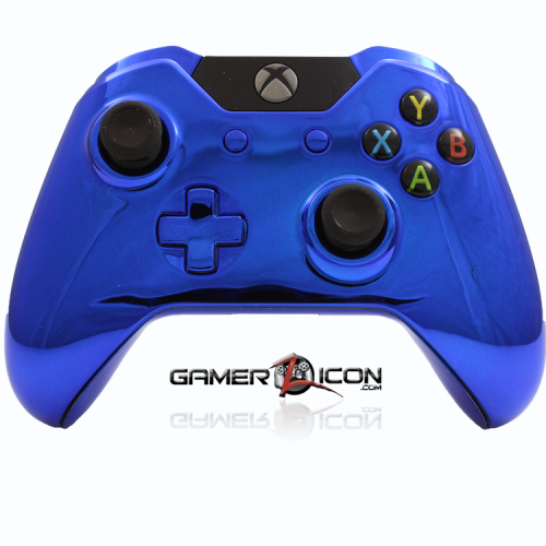 Xbox One Chrome Blue Controller
