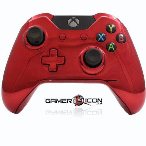 Xbox One Chrome Red Controller
