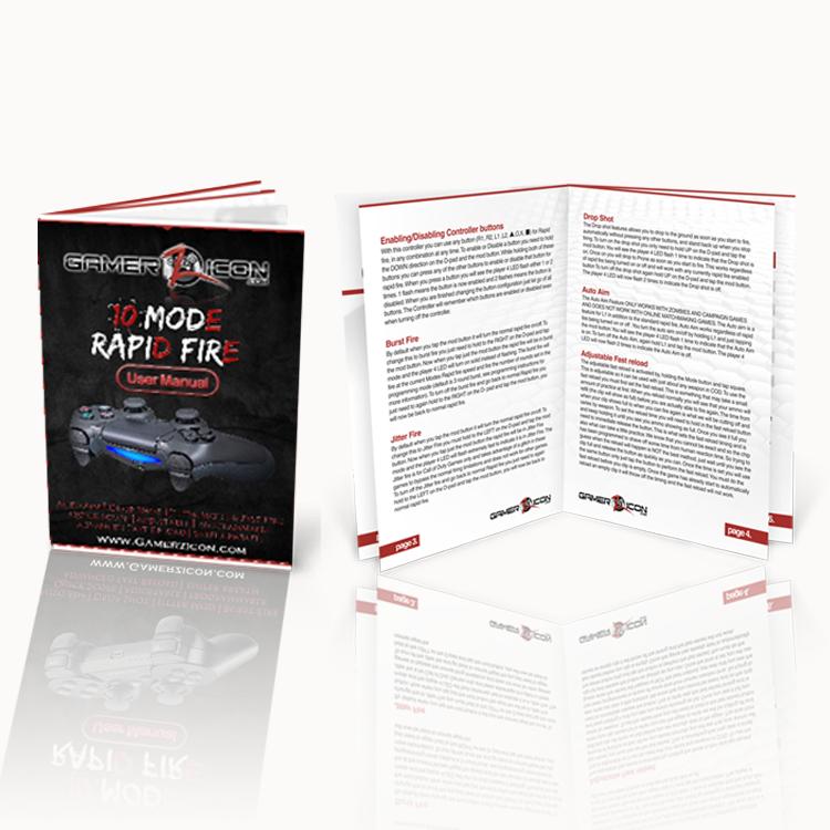 PS4 Rapid Fire Mode User Manual