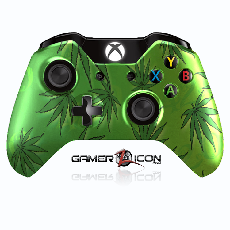 Xbox One 420 Smokers Delight Controller