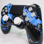 PS4 Savage Blue Portfolio 1
