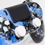 PS4 Savage Blue Portfolio 4