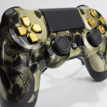 PS4 Skull Gold Portfolio 1