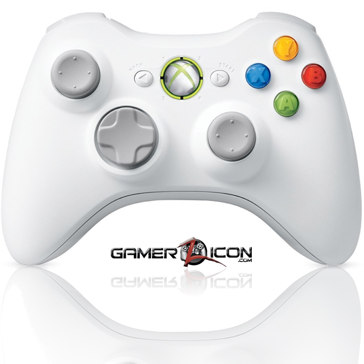 Xbox 360 modded controller special edition white gamerzicon com