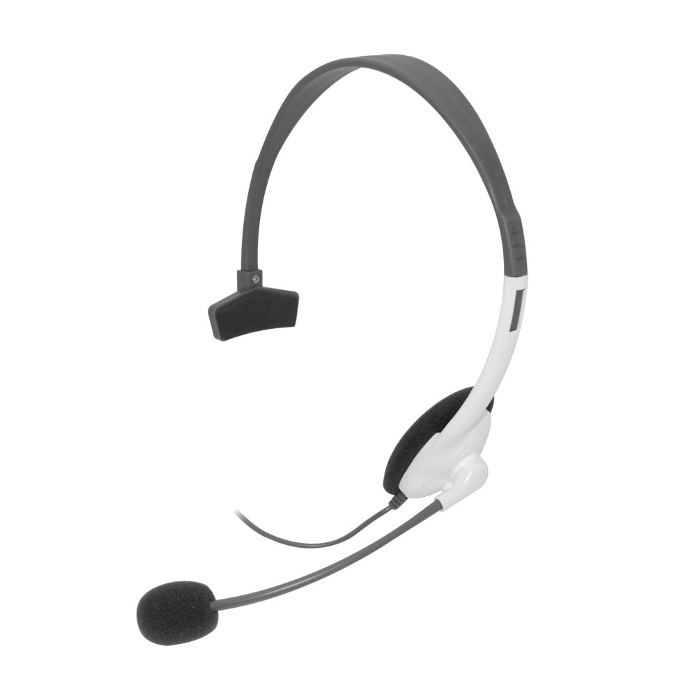 Xbox 360 Wired Headset White – Gamerzicon.com – Your Leader for PS3 ...