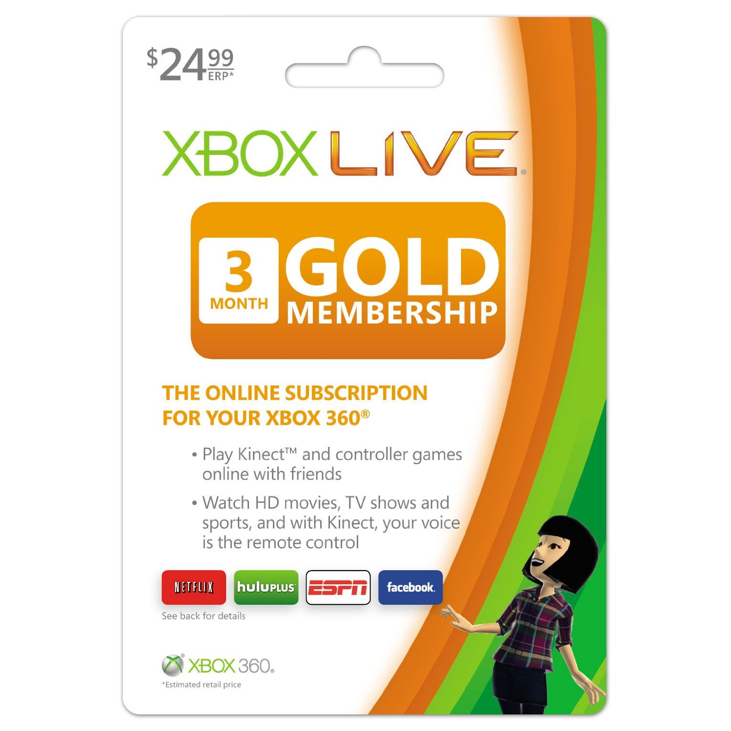 Add six months to your xbox live gold membership for only $25.