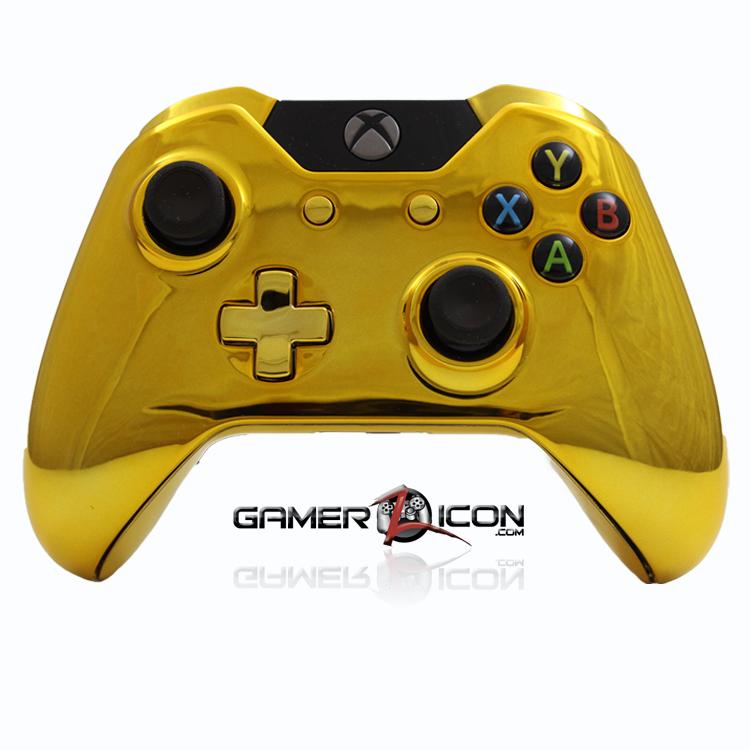 xbox 360 controller gold - photo #2